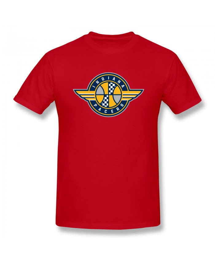 Holiday Indiana Pacers Men's Basic Short Sleeve T-Shirt Indiana Pacers IND Red