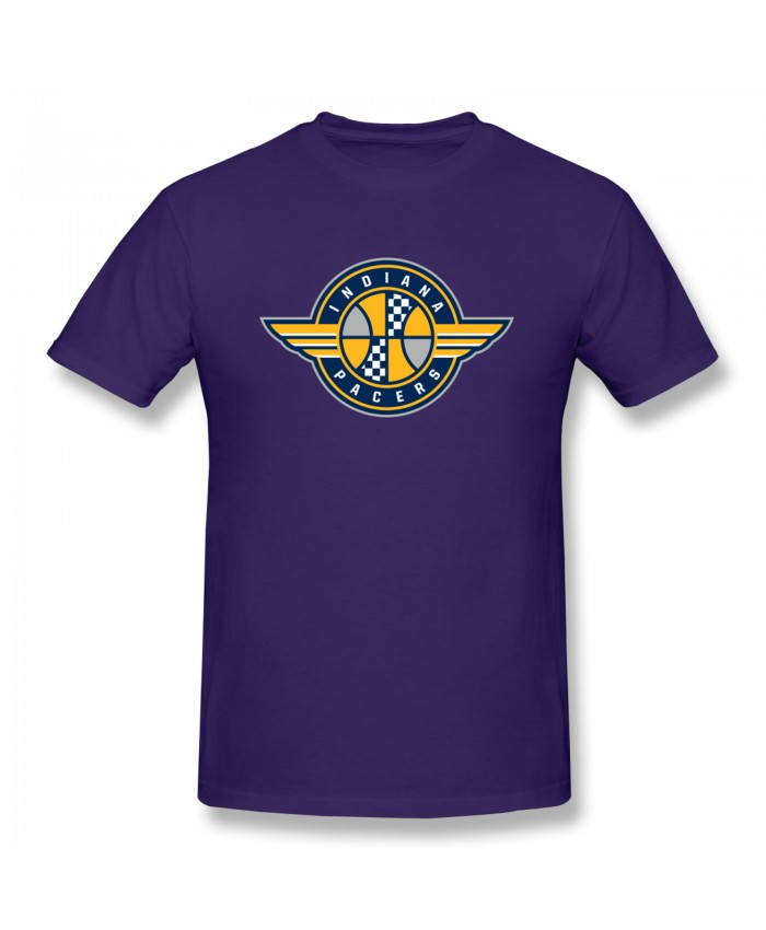 Indiana Pacers 2020 Men's Basic Short Sleeve T-Shirt Indiana Pacers IND Purple