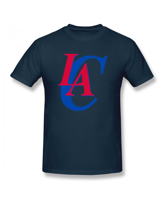 La Clippers 2017 Men's Basic Short Sleeve T-Shirt Los Angeles Clippers LAC Navy
