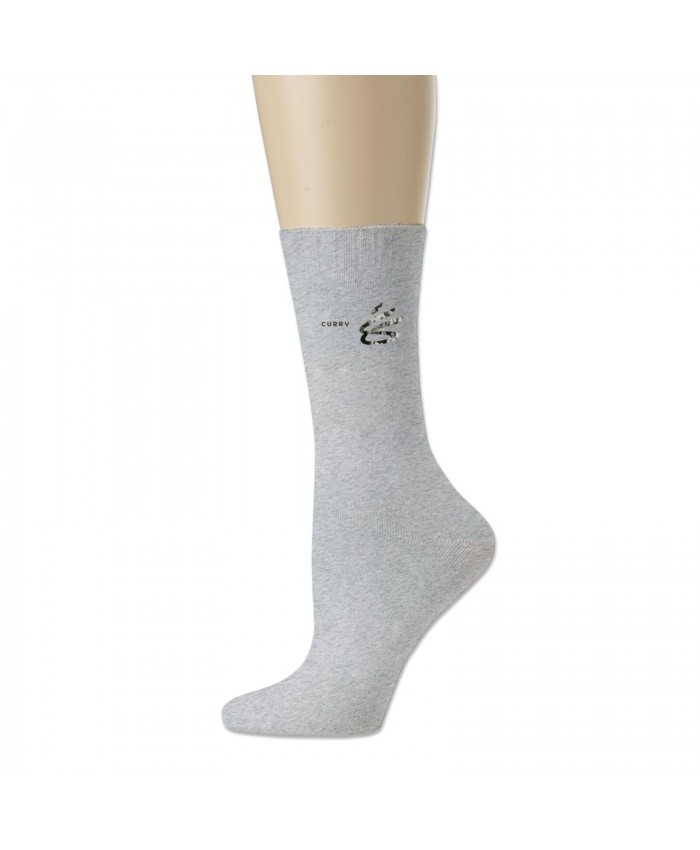 Lebron And Steph Curry Cotton socks Stephen Curry Logo Gray