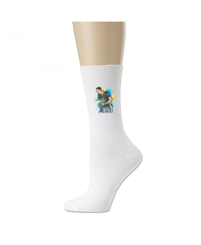 Nba Player Stephen Curry Cotton socks Stephen Curry White