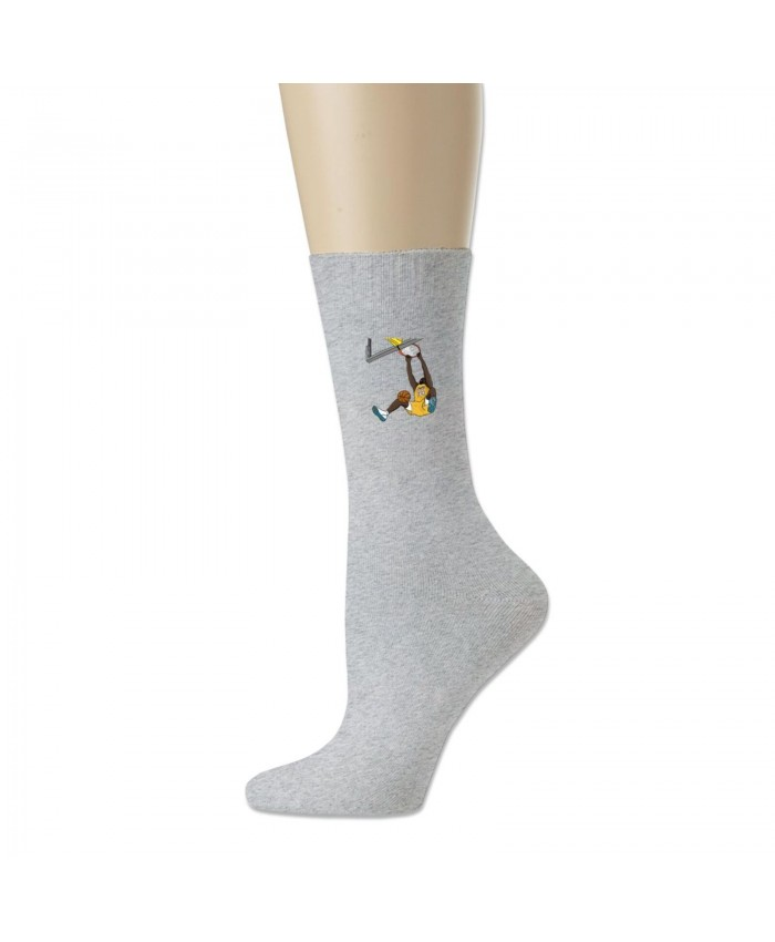 Shaq 30 For 30 Cotton socks Shaquille O'Neal Gray