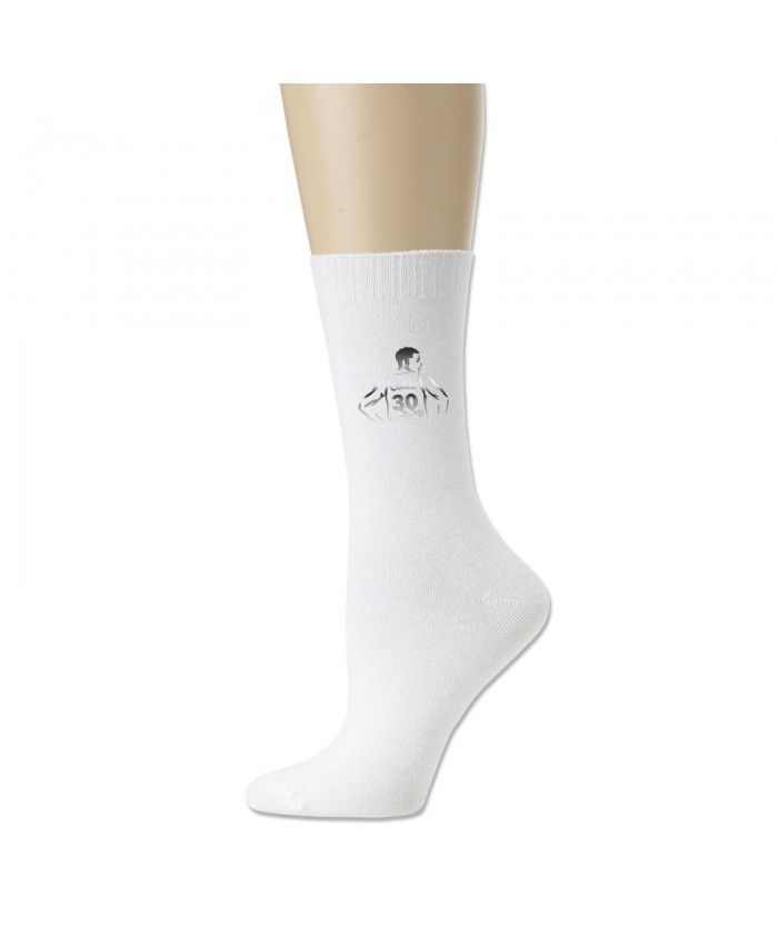 Steph Curry 2011 Cotton socks Basketball Stephen Curry Funny White