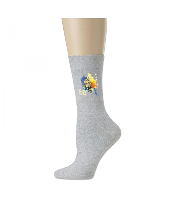 Stephen Curry Clippers Cotton socks Stephen Curry Gray